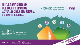 X Congreso Ltinoamericano de Ciencia Política
